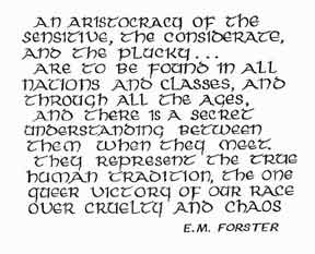Forster Quote